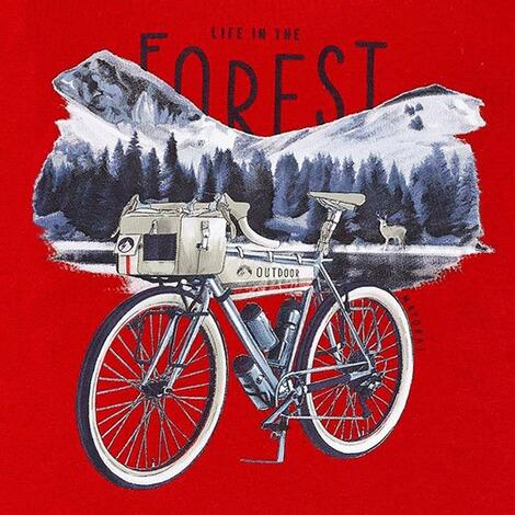 Mayoral Sweatshirt mit Kapuze Fahrrad online kaufen | baby walz