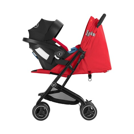 gb GOLD Qbit+ All Terrain Buggy  Rose Red 4