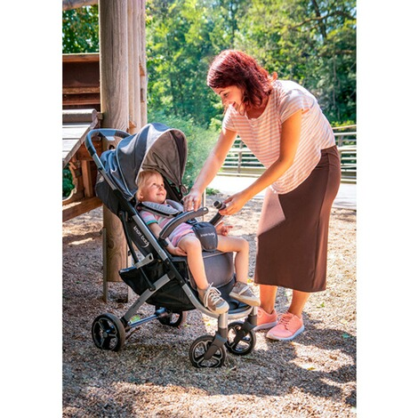 knorr-babyPREMIUMX-Easy-Fold Buggy mit Liegefunktion  anthrazit 9