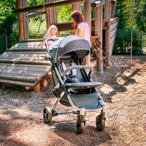 knorr-babyPREMIUMX-Easy-Fold Buggy mit Liegefunktion  anthrazit 10