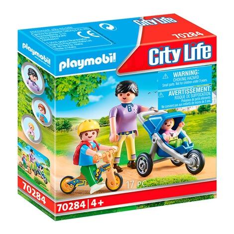 Playmobil® CITY LIFE 70284 Mama mit Kindern online kaufen ...