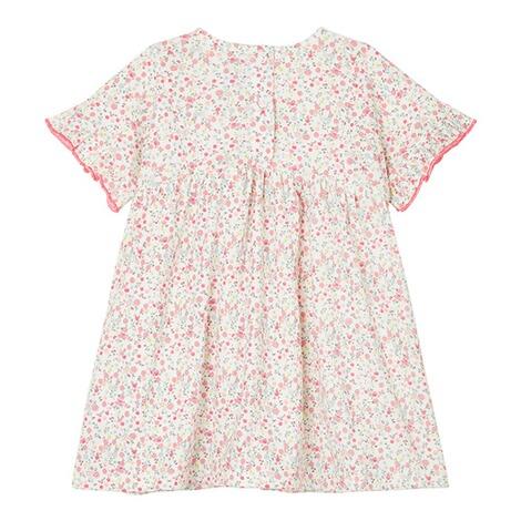 Petit Bateau Jersey-Kleid kurzarm Blumen online kaufen ...
