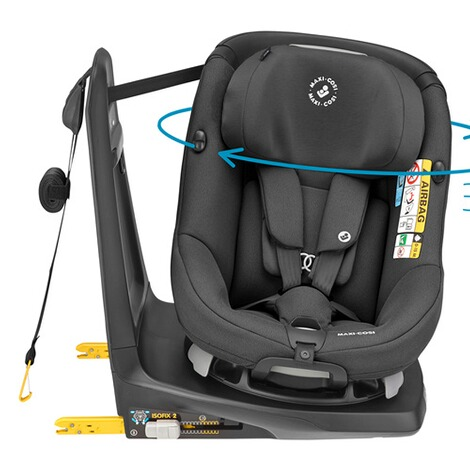 Maxi-CosiAxissfix i-Size Kindersitz  authentic black 2