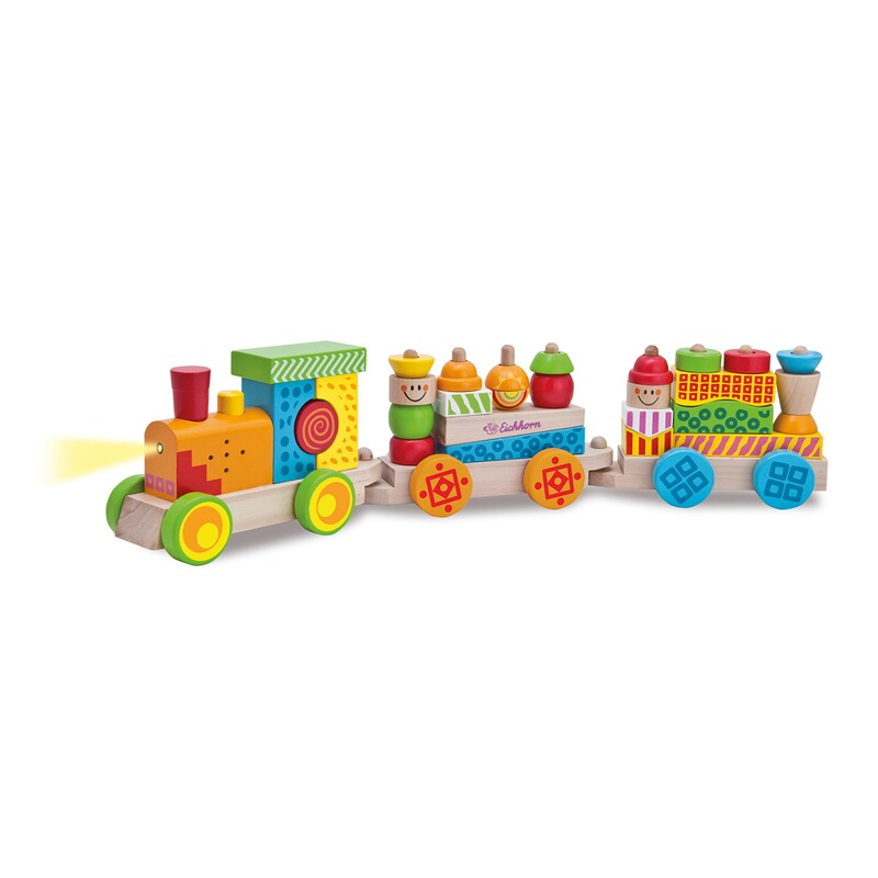 Eichhorn Zug mit Licht und Sound | Kleinkindspielzeug