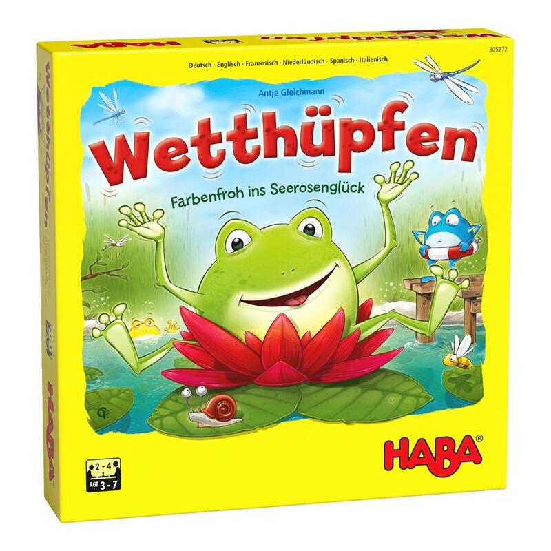 Haba Würfel Hüpf Spiel Wetthüpfen online kaufen | baby walz